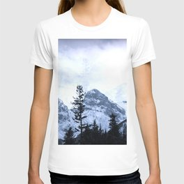 Mystic Three Sisters Mountains - Canadian Rockies T-shirt