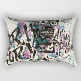 ¡ORA, ORA! Rectangular Pillow
