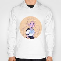 sailor moon Hoodies featuring Sailor Moon by Natali Koromoto