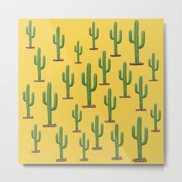 Cactus! Metal Print