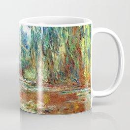 Monet Bridge over a Pond of Water Lilies,1899 Coffee Mug