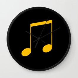 netzauge-music note Wall Clock