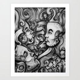 """""""Joker's Vision"""" Art Print"""