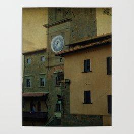 Cortona (Italy) Poster