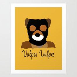 """Vulpes Vulpes"" Art Print"