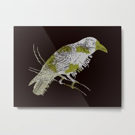 Quoth the Raven Metal Print