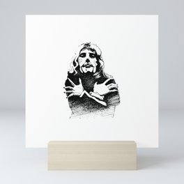Is this the real life? Mini Art Print