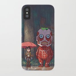 My Neighbor Titan iPhone Case