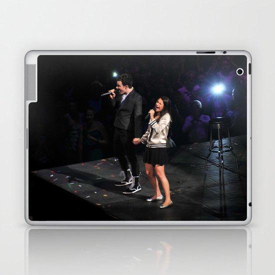 Glee Concert: Lea Michele and Chris Colfer Laptop & iPad Skin