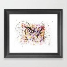 Owl // Ahmyo Framed Art Print