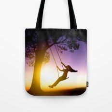 Swing Girl Tote Bag