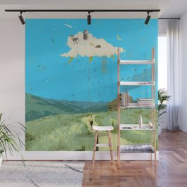 DREAMING IN FOOTHILLS Wall Mural
