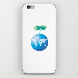 Save the Earth iPhone Skin