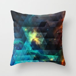 Galaxies I Throw Pillow