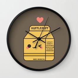 Kawaii Hufflepuff Wall Clock