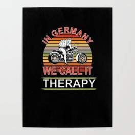 In Germany we call this Therapy Poster