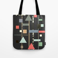 Abstract Aztec No. 1 Tote Bag