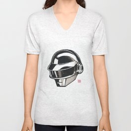 Daft Punk Thomas Bangalter Unisex V-Neck