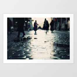 Shopping Art Print