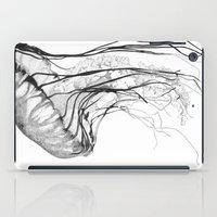 water iPad Cases featuring Medusozoa by Edward Blake Edwards