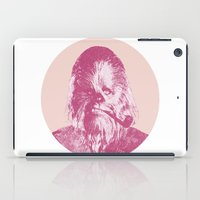 chewbacca iPad Cases featuring Chewbacca by NJ-Illustrations