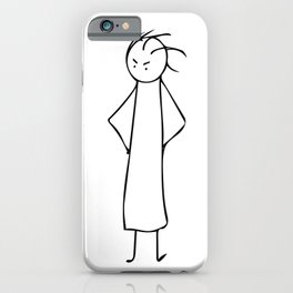 I'm Still Waiting! iPhone Case