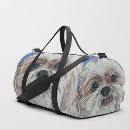 Ruby the Shih Tzu Dog Portrait Duffle Bag