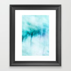 Abstract Waterfall Framed Art Print