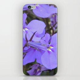 Crystal Lobelia iPhone Skin