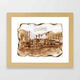 Albany. Framed Art Print