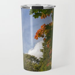 Early Autumn in City Park Travel Mug