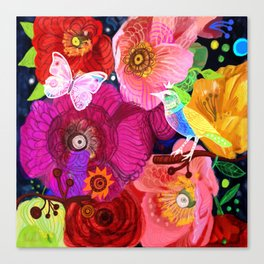 Wild spring Canvas Print