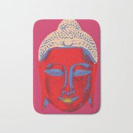 Red Buddha Bath Mat
