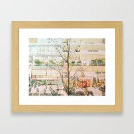 Overwhelming London Framed Art Print