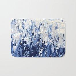 Blue Iris Rising Bath Mat
