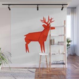 Origami Deer Wall Mural