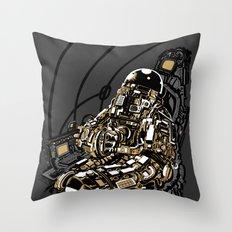 Full Throttle Throw Pillow