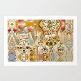 Mushyrealm Art Print