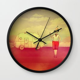 Let's go exploring Wall Clock