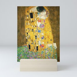 Gustav Klimt The Kiss Mini Art Print