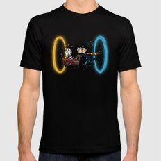 Harry Portal Mens Fitted Tee SMALL Black