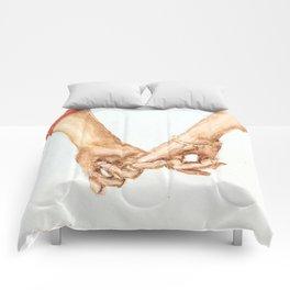 Pinky Swear III Comforters