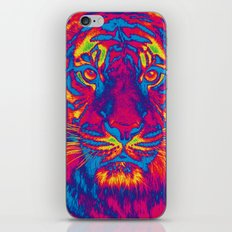 Trippy Tiger iPhone Skin