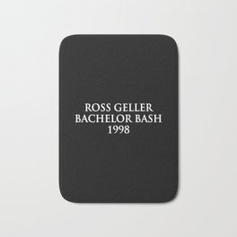 Ross Geller Bath Mat