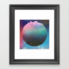 Pop Corn Planet Framed Art Print