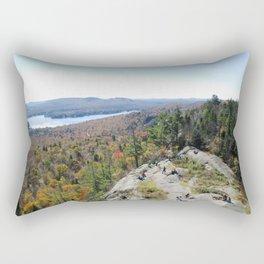 Lookout from Bald Mt. Rectangular Pillow