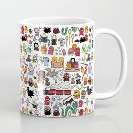 Kawaii Harry Potter Doodle Coffee Mug