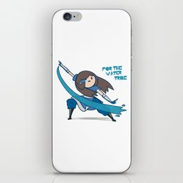 For the Water Tribe ! iPhone Skin