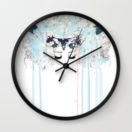 The Horned One Wall Clock