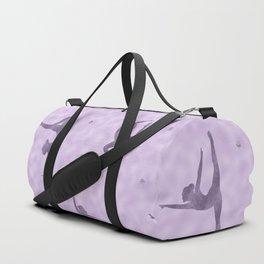Violet Gymnastics Duvet Duffle Bag